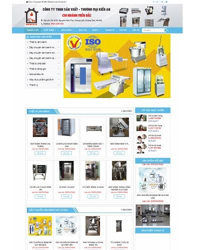 Mẫu website doanh nghiệp MS43