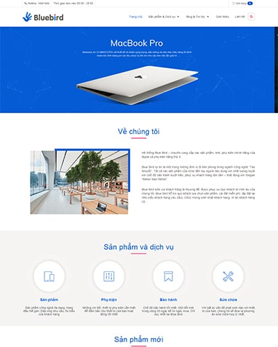 Website doanh nghiệp AB
