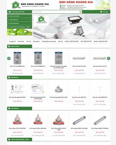 Mẫu website điện tử MS01