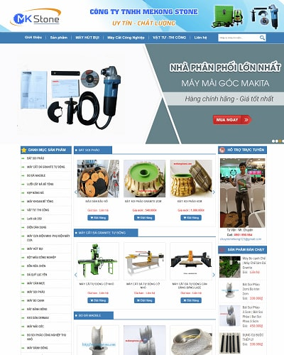 Mẫu website điện tử MS04