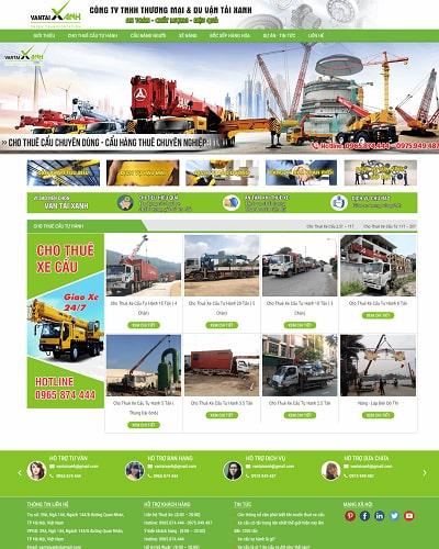 Mẫu website doanh nghiệp MS06