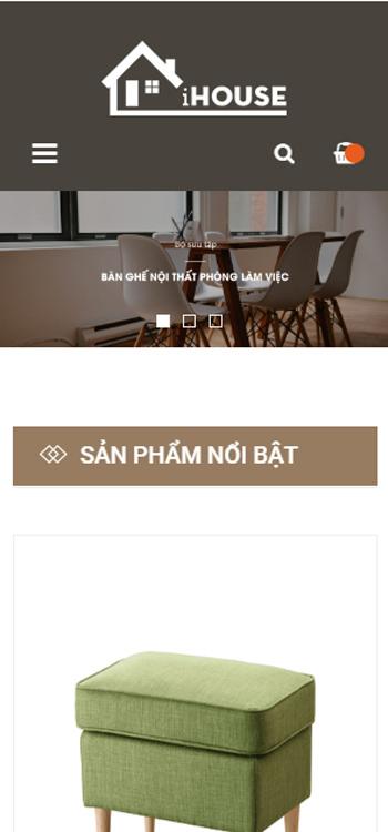 Website Nội thất dành cho công ty