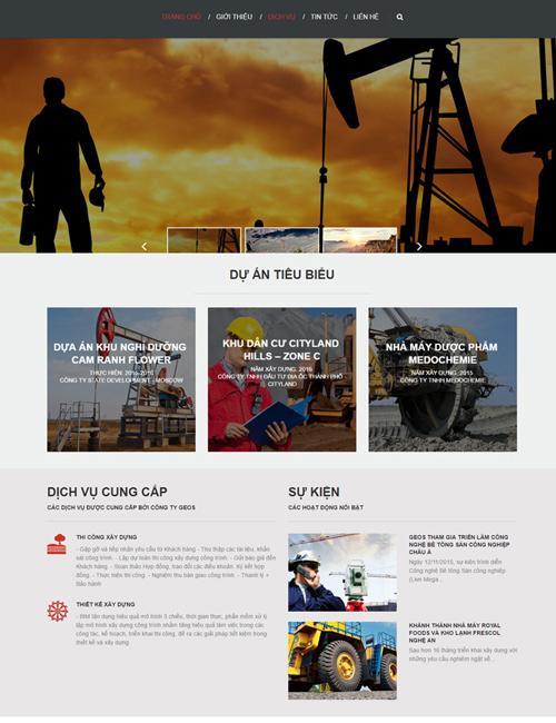 Website Dành cho doanh nghiệp