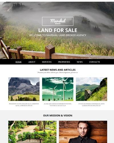 Website Tâm nghĩa Land