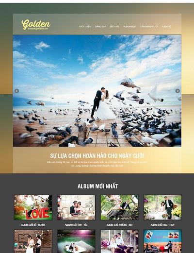 Website Áo cưới cao cấp