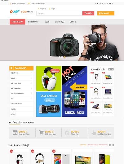 Website Siêu thị điện máy