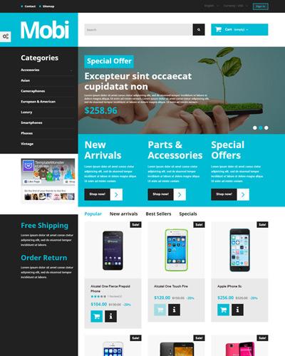 Mẫu website về Điện thoại di động , điện thoại sách tay