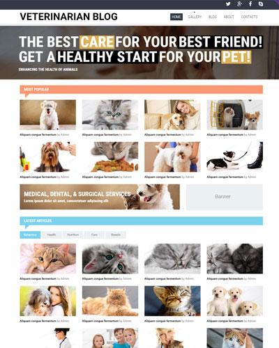 Website Cửa hàng thú y