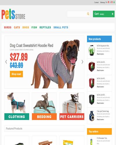Website Cửa hàng bán túi đựng thú cưng