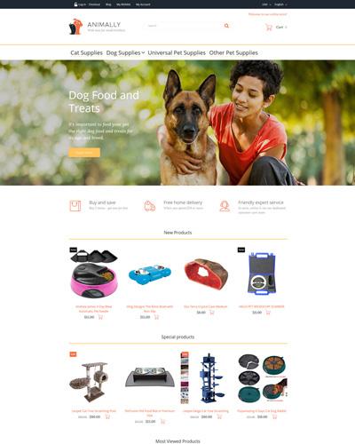Website Vật dụng dành cho vật nuôi