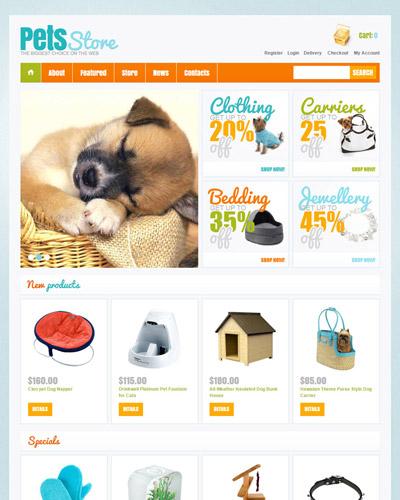 Website Ngôi nhà của thú cưng