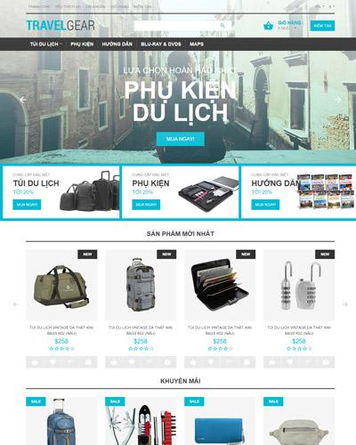 Website Đồ dùng khi đi du lịch