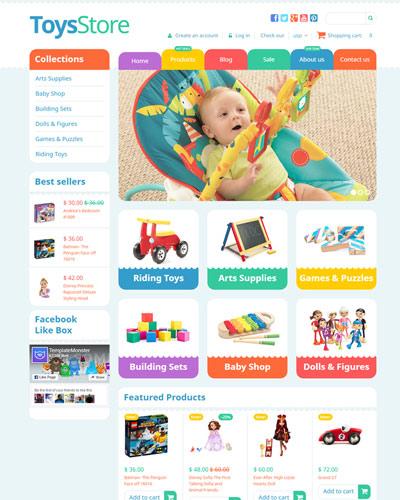Website Đồ chơi dành cho trẻ em
