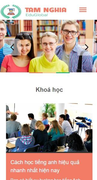Website Các khóa học tiếng anh hiểu quả
