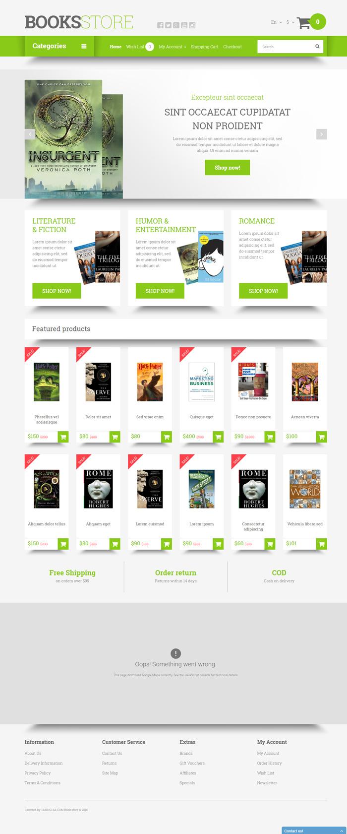 Website Nhà sách dành cho giới trẻ