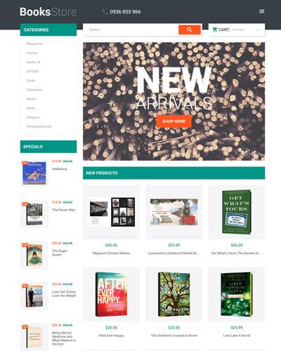 Website Thư viện sách
