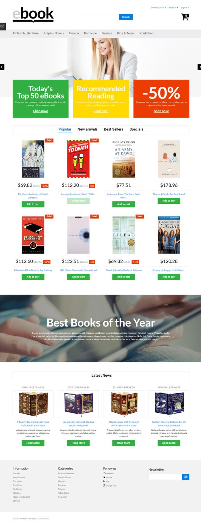 Website  Nhà sách về đề tài vũ trụ
