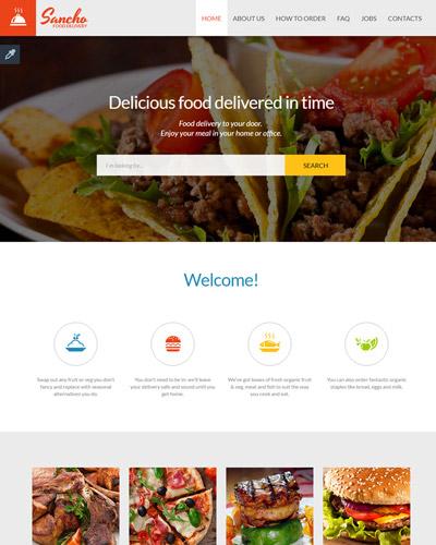 Website Bánh pizza,thịt nướng,nước uống  , đồ ăn