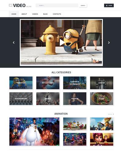 Website Phim hành động , phim hoạt hình , phim hài ...