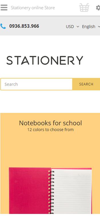 Website Đồ dùng học tập , bút màu , màu vẽ