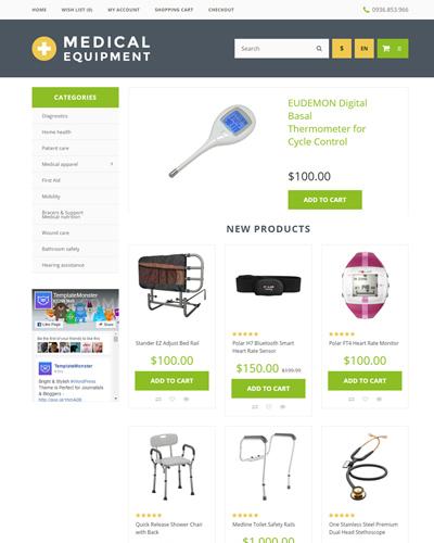 Website  Thiết bị y tế , thiết bị cho người bị bệnh