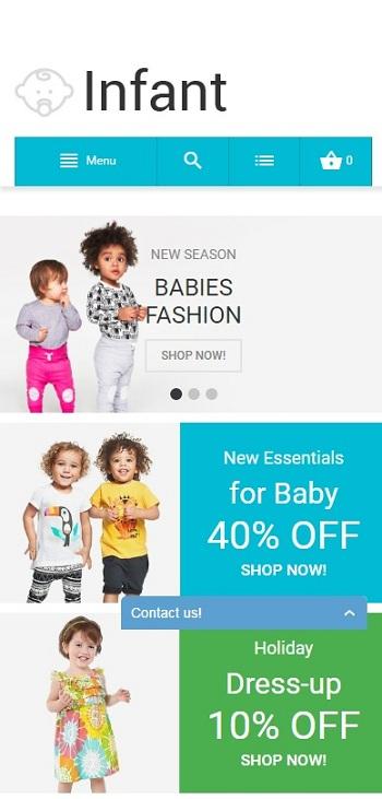 Website Thời trang cho bé