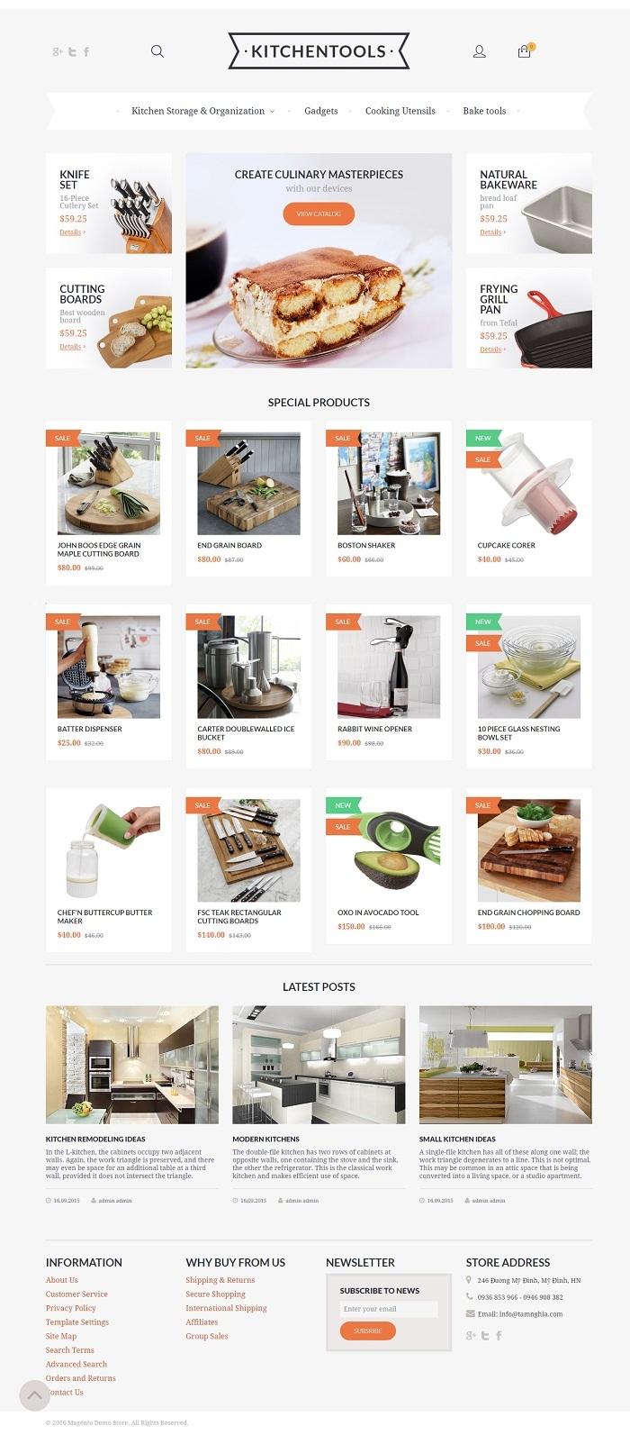 Website  Dụng cụ nhà bếp
