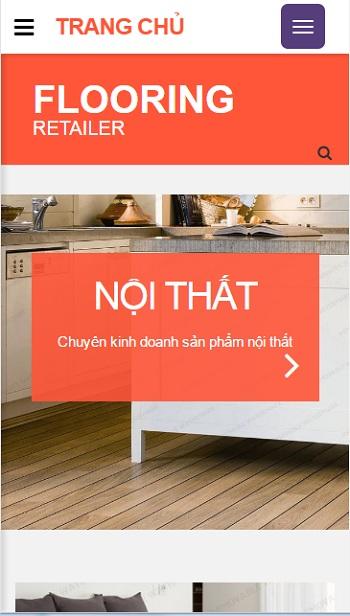 Website  nội thất phòng ăn