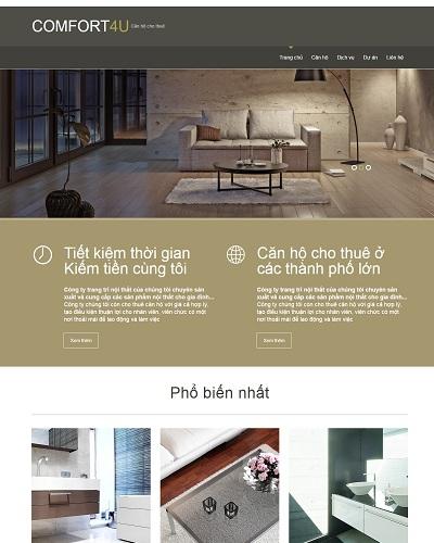 Website  nội thất nhà ở