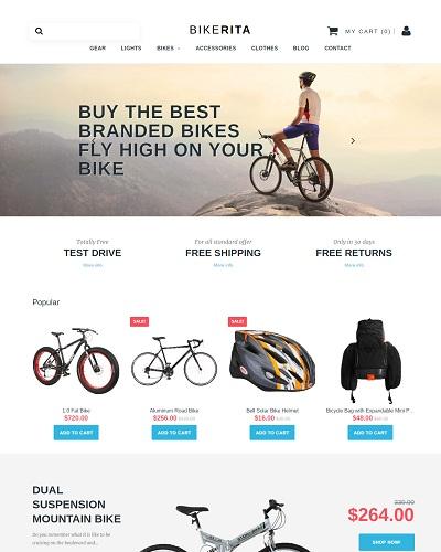 Website Shop xe đạp