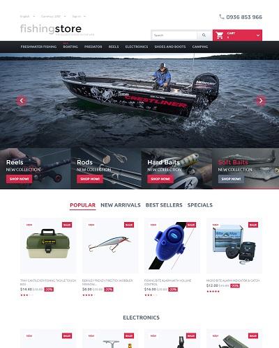 Website Dụng cụ câu cá đa năng