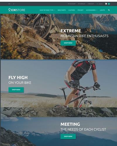 Website Xe đạp địa hình