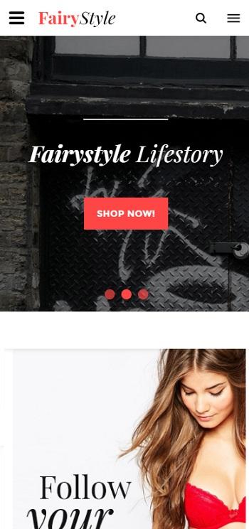 Website Thời trang thu - đông