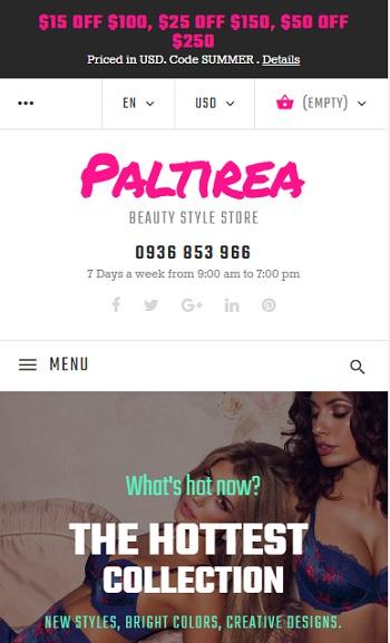 Website Quần áo bikini