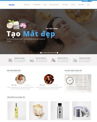 Website Tạo mẫu mắt và tư vấn các mẫu mắt