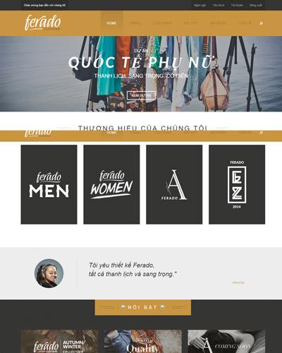 Website  Shop quần áo thể thao và quà tặng