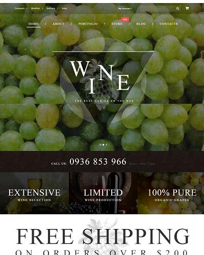 Website  Rượu vang hảo hạn