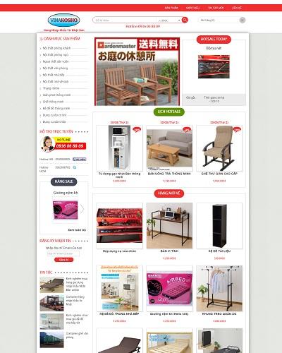 Mẫu website về Doanh nghiệp