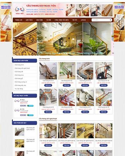 Website  Cầu thang Ngọc Tiến