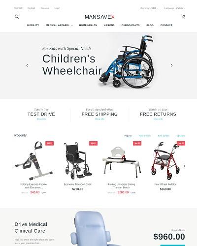 Website  Xe lăn y tế