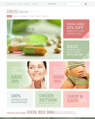 Website dược phẩm cho bà bầu